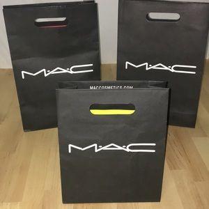 Four MAC Merchandise Bags
